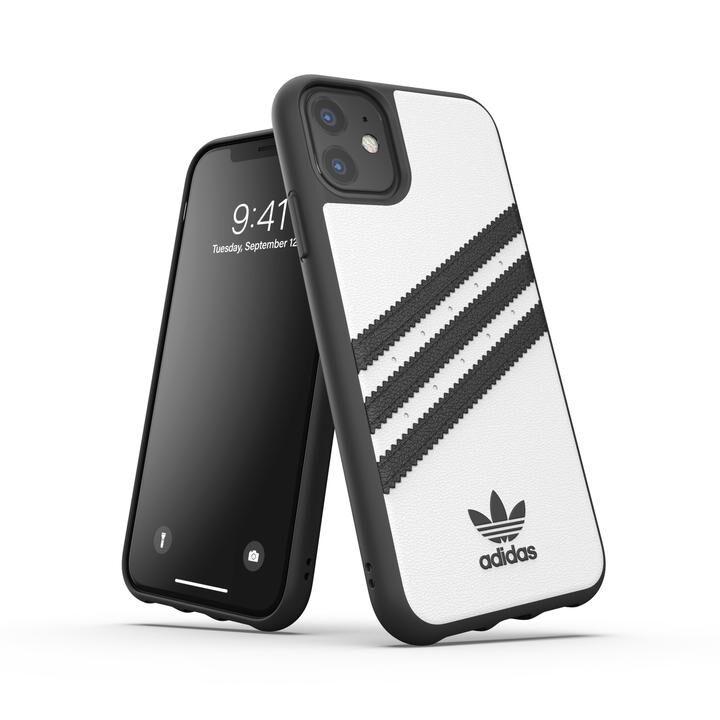iPhone 11 ケース adidas Originals Moulded Case SAMBA FW19 iPhone 11 White/Black_0