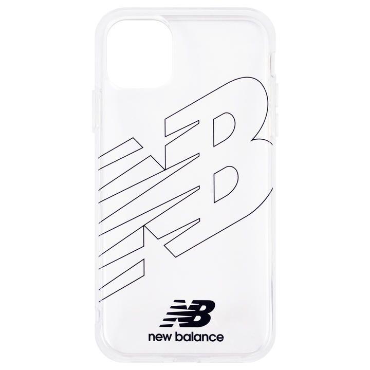 iPhone 11 ケース New Balance TPUクリアケース フライングロゴ/ブラック iPhone 11_0