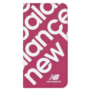 iPhone 11 ケース New Balance スリム手帳ケース スタンプロゴ スタンプロゴ/ピンク iPhone 11