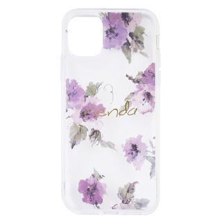 iPhone 11 ケース rienda TPUクリア インモールドケース iPhone 11 md-74378-1