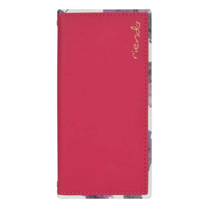 iPhone 11 Pro ケース rienda スクエア手帳 Parm Flower/ピンク iPhone 11 Pro_0