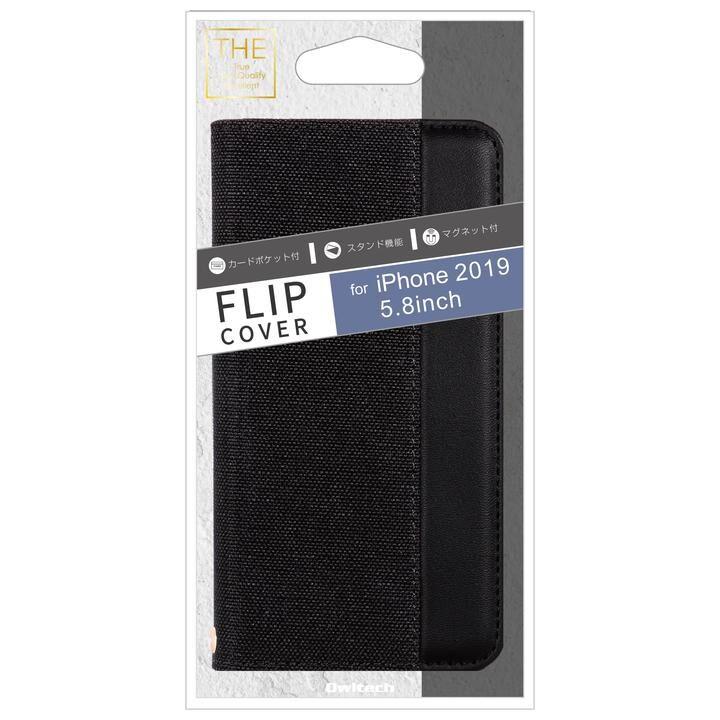 iPhone 11 Pro ケース THE カード収納ポケット付き手帳型ケース BKBK iPhone 11 Pro_0
