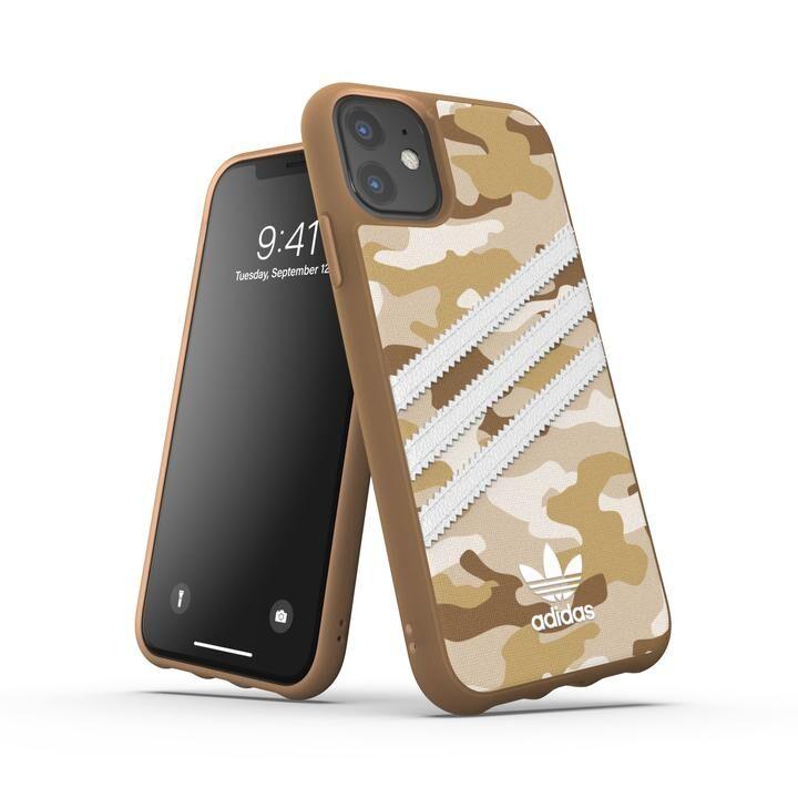 iPhone 11 ケース adidas Originals Moulded Case SAMBA ROSE FW19 iPhone 11 Raw Gold_0