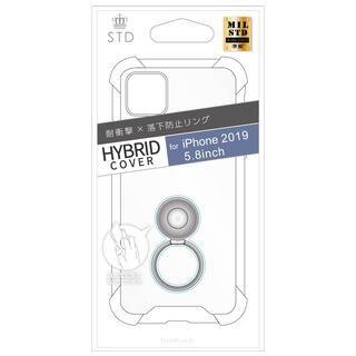 iPhone 11 Pro ケース STD 落下防止リング付属ハイブリットケース クリア iPhone 11 Pro