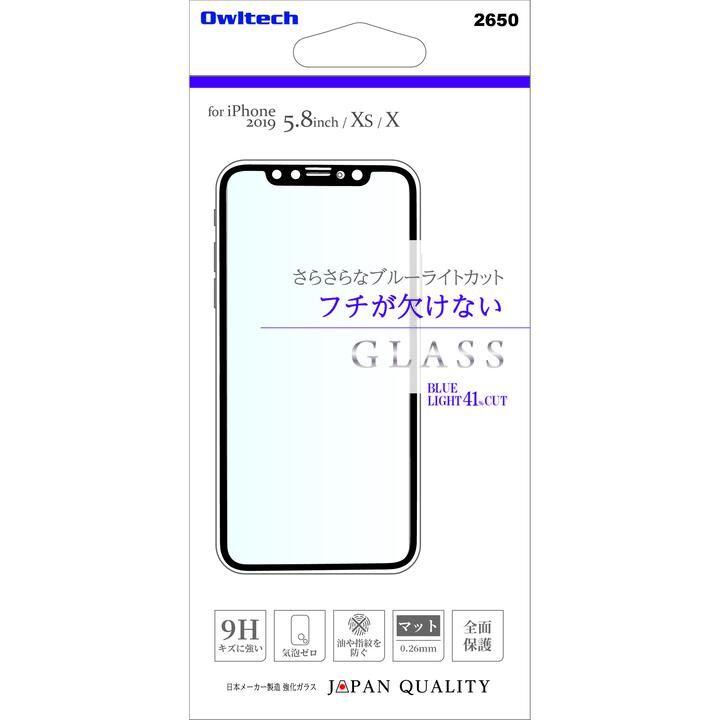 iPhone 11 Pro フィルム 画面保護強化ガラス PET 全面保護 ブルーライトカット マット フチが欠けない iPhone 11 Pro_0