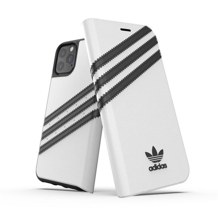 iPhone 11 Pro ケース adidas Originals Booklet Case SAMBA FW19 iPhone 11 Pro White/Back_0