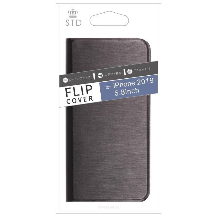 iPhone 11 Pro ケース STD カード収納ポケット付き手帳型ケース ブラック iPhone 11 Pro_0