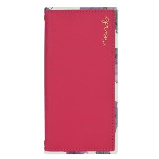 iPhone 11 Pro ケース rienda スクエア手帳 Parm Flower/ピンク iPhone 11 Pro