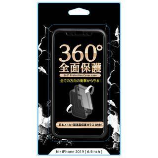 iPhone 11 Pro Max ケース 専用ガラスフィルム付き360°フルカバーケース ブラック iPhone 11 Pro Max