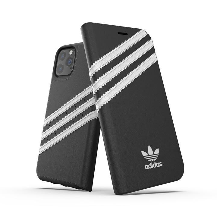 iPhone 11 Pro ケース adidas Originals Booklet Case SAMBA FW19 iPhone 11 Pro Back/White_0