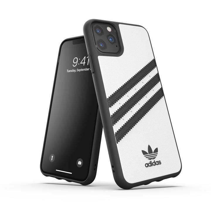 iPhone 11 Pro Max ケース adidas Originals Moulded Case SAMBA FW19 iPhone 11 Pro Max White/Black_0