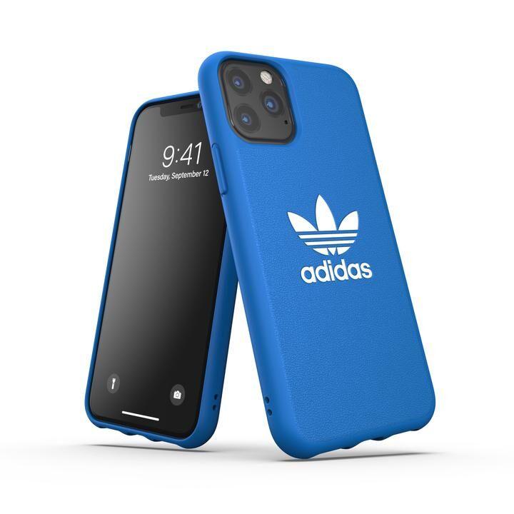 iPhone 11 Pro ケース adidas Originals Moulded Case BASIC FW19 iPhone 11 Pro Bluebird/White_0
