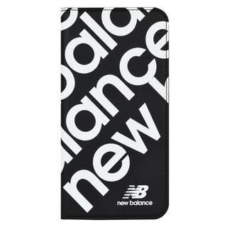 iPhone 11 Pro ケース New Balance スリム手帳ケース スタンプロゴ スタンプロゴ/ブラック iPhone 11 Pro