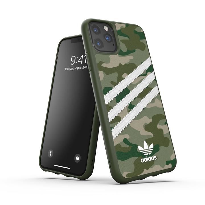 iPhone 11 Pro Max ケース adidas Originals Moulded Case SAMBA ROSE FW19 iPhone 11 Pro Max Raw Green_0