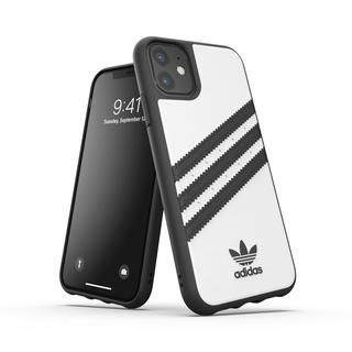 iPhone 11 ケース adidas Originals Moulded Case SAMBA FW19 iPhone 11 White/Black