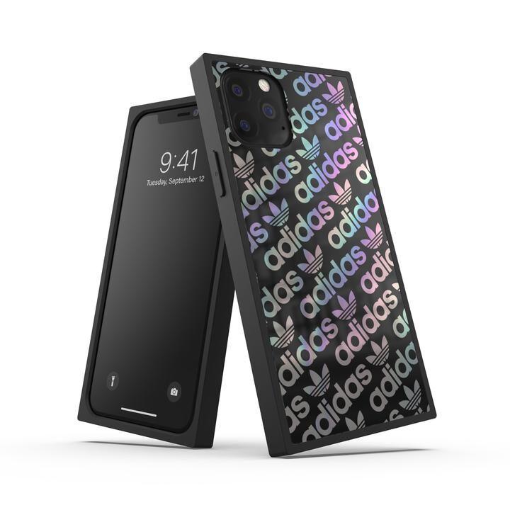 iPhone 11 Pro ケース adidas Originals SQUARE CASE FW19 iPhone 11 Pro Black/Holographic_0