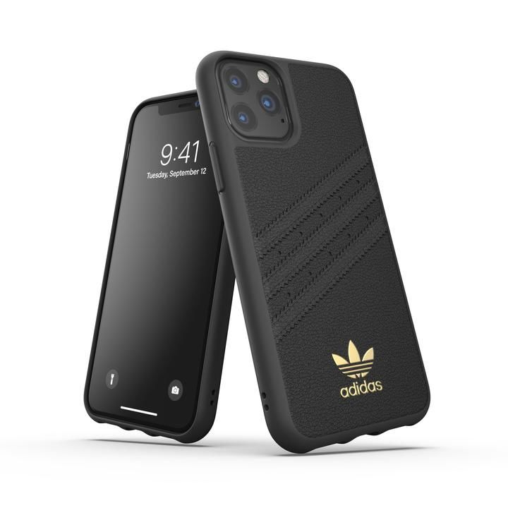 iPhone 11 Pro ケース adidas Originals Moulded Case SAMBA Premium FW19 iPhone 11 Pro Black_0
