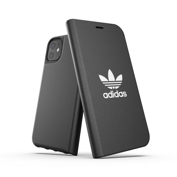 adidas Originals Booklet Case BASIC FW19 iPhone 11 Black/White_0