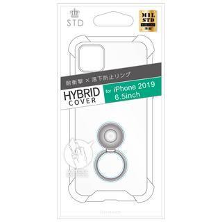 iPhone 11 Pro Max ケース STD 落下防止リング付属ソフトケース クリア iPhone 11 Pro Max