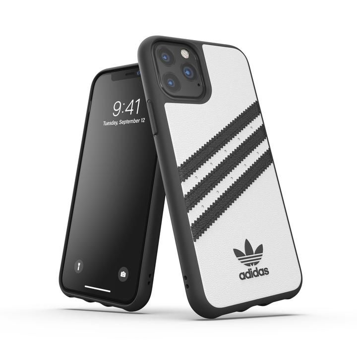iPhone 11 Pro ケース adidas Originals Moulded Case SAMBA FW19 iPhone 11 Pro White/Black_0