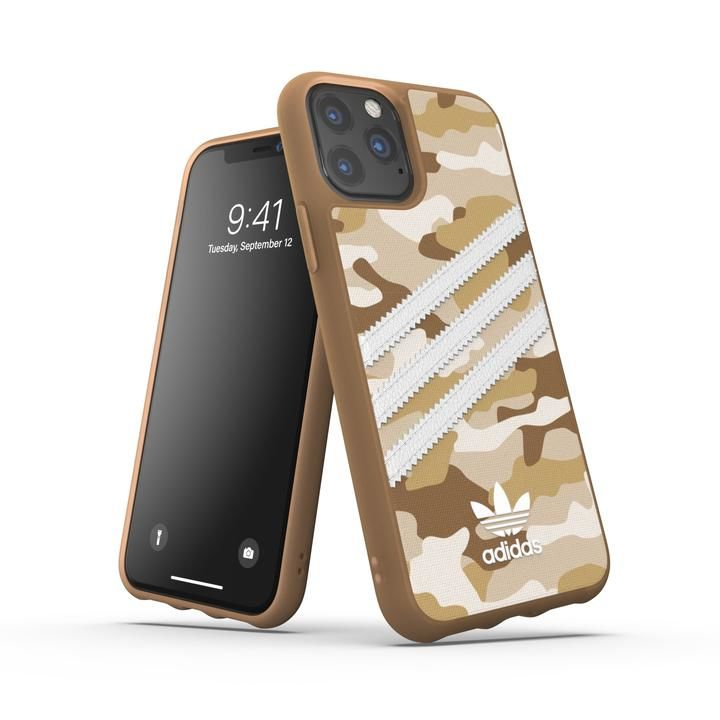 iPhone 11 Pro ケース adidas Originals Moulded Case SAMBA ROSE FW19 iPhone 11 Pro Raw Gold_0
