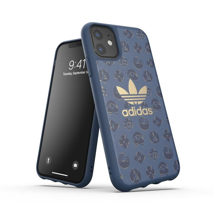 iPhone 11 ケース adidas Originals Moulded Case SHIBORI FW19 iPhone 11 Ink_0
