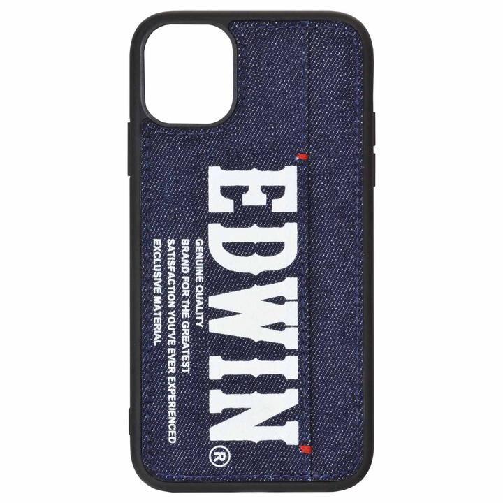iPhone 11 ケース EDWIN 手帳型ケース プリントデニム iPhone 11_0