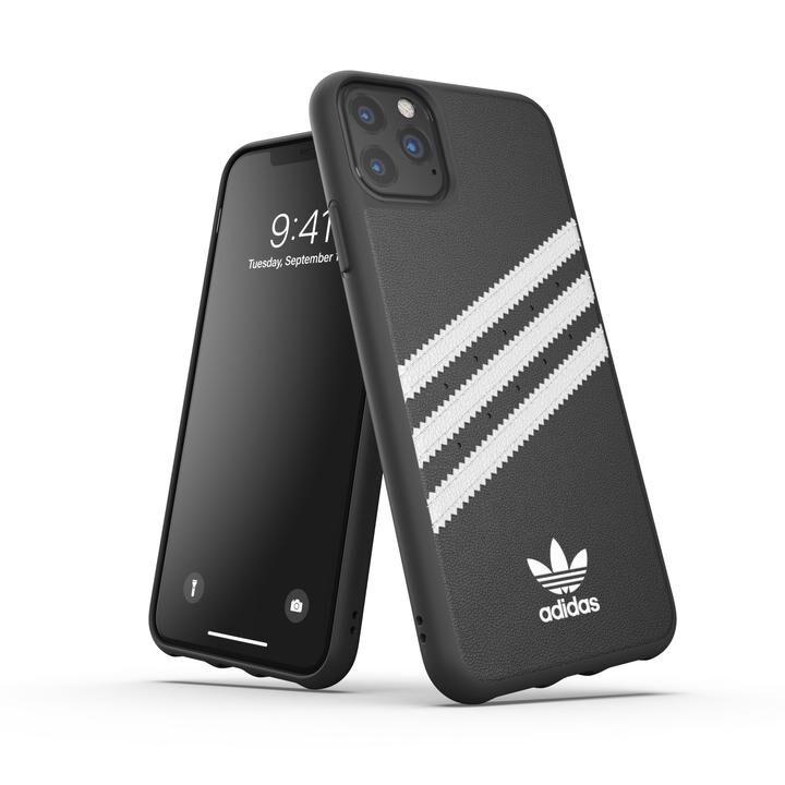 iPhone 11 Pro Max ケース adidas Originals Moulded Case SAMBA FW19 iPhone 11 Pro Max Black/White_0