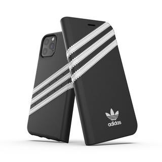 iPhone 11 Pro ケース adidas Originals Booklet Case SAMBA FW19 iPhone 11 Pro Back/White