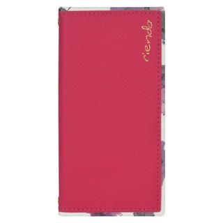 iPhone 11 ケース rienda スクエア手帳 Parm Flower/ピンク iPhone 11