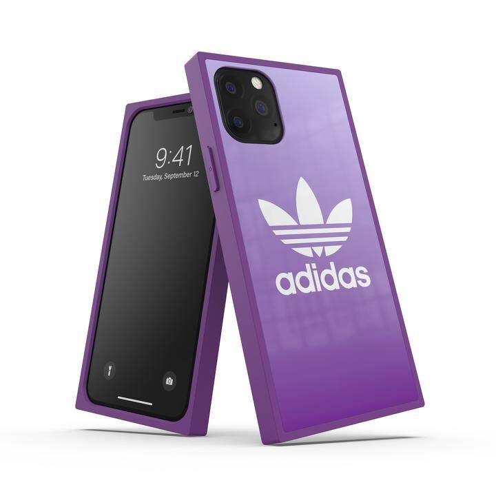 iPhone 11 Pro ケース adidas Originals SQUARE CASE FW19 iPhone 11 Pro Active Purple_0
