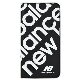 iPhone 11 ケース New Balance スリム手帳ケース スタンプロゴ スタンプロゴ/ブラック iPhone 11