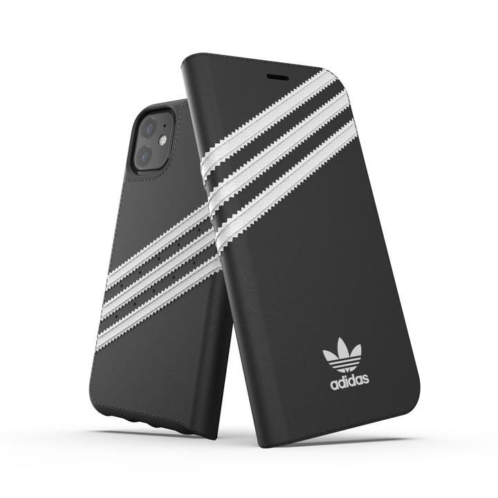 iPhone 11 ケース adidas Originals Booklet Case SAMBA FW19 iPhone 11 Back/White_0