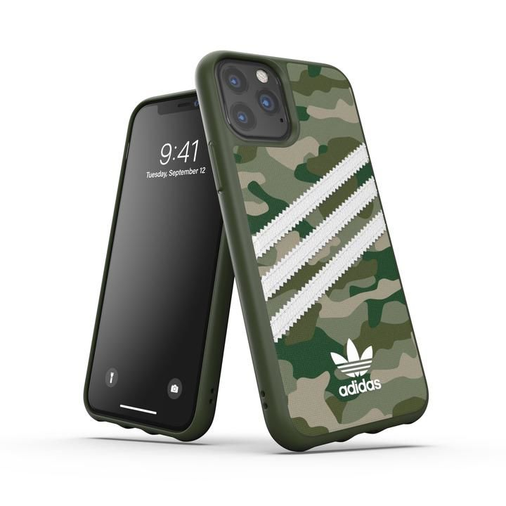 iPhone 11 Pro ケース adidas Originals Moulded Case SAMBA ROSE FW19 iPhone 11 Pro Raw Green_0
