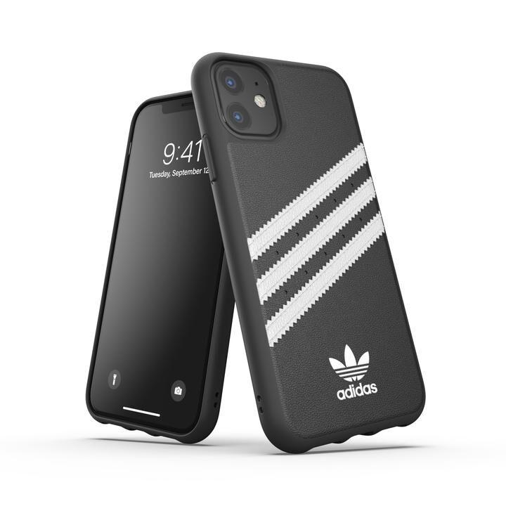 iPhone 11 ケース adidas Originals Moulded Case SAMBA FW19 iPhone 11 Black/White_0