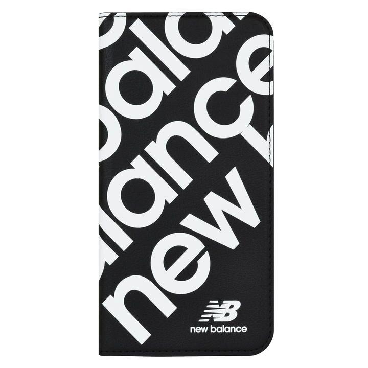iPhone 11 Pro ケース New Balance スリム手帳ケース スタンプロゴ スタンプロゴ/ブラック iPhone 11 Pro_0