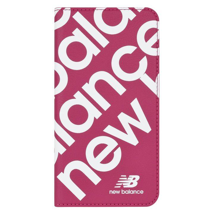 iPhone 11 ケース New Balance スリム手帳ケース スタンプロゴ スタンプロゴ/ピンク iPhone 11_0