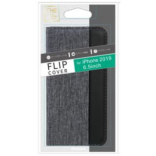 iPhone 11 Pro Max ケース THE カード収納ポケット付き手帳型ケース グレイブラック iPhone 11 Pro Max