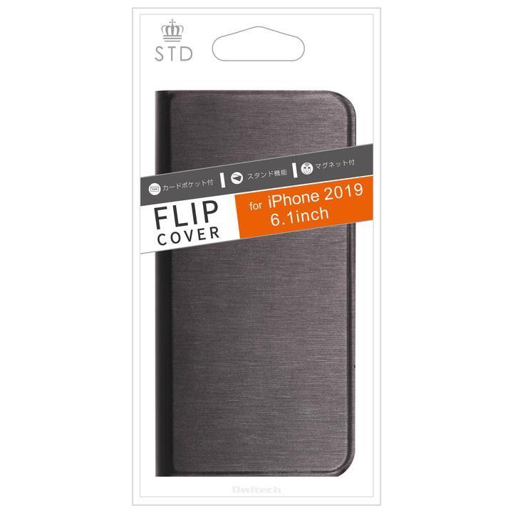 iPhone 11 ケース STD カード収納ポケット付き手帳型ケース ブラック iPhone 11_0