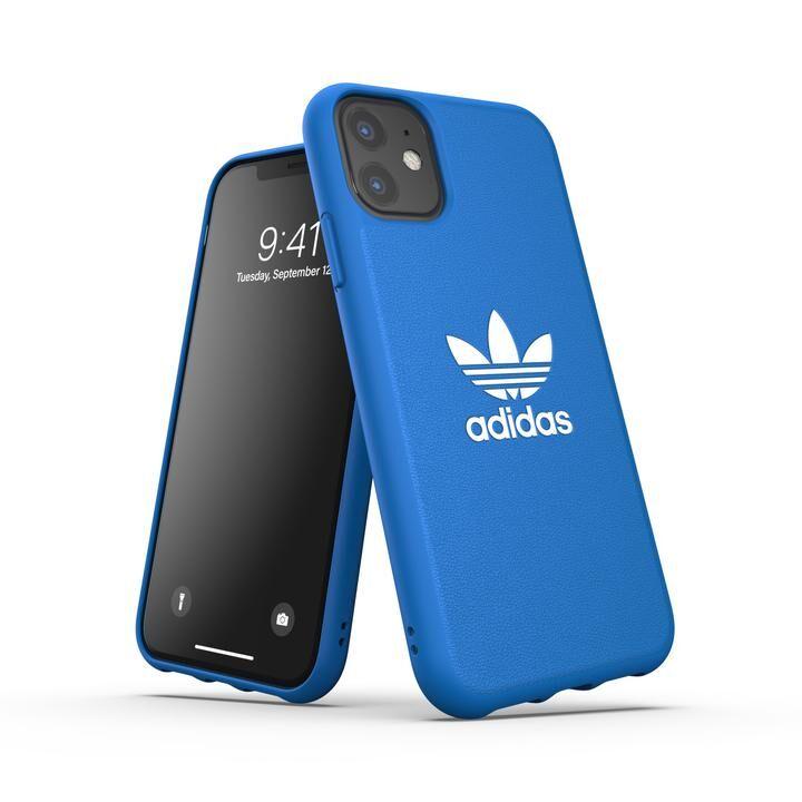 iPhone 11 ケース adidas Originals Moulded Case BASIC FW19 iPhone 11 Bluebird/White_0