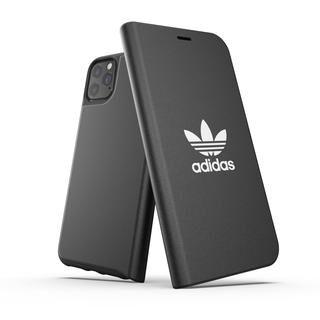 iPhone 11 Pro Max ケース adidas Originals Booklet Case BASIC FW19 iPhone 11 Pro Max Black/White