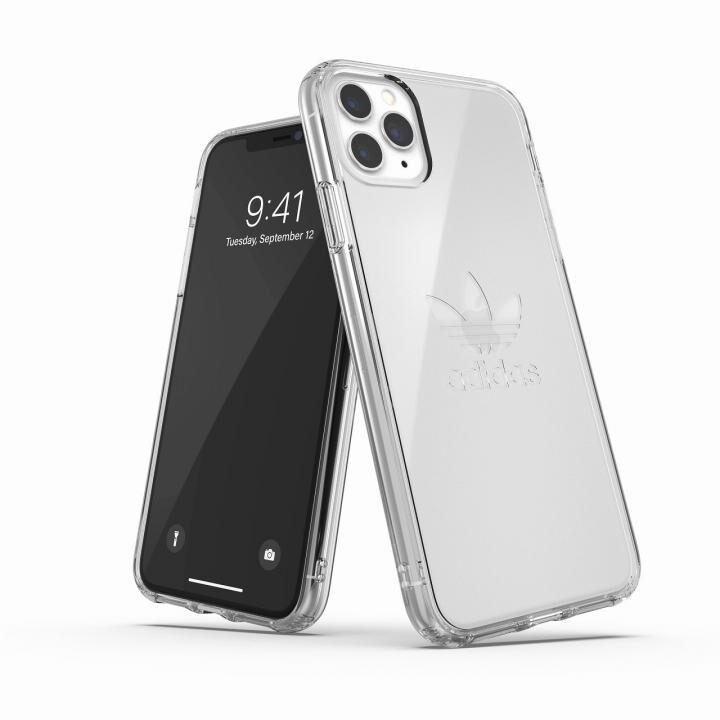 iPhone 11 Pro Max ケース adidas Originals Protective Clear Case Big Logo FW19 iPhone 11 Pro Max Clear_0