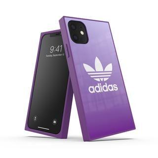 iPhone 11 ケース adidas Originals SQUARE CASE FW19 iPhone 11 Active Purple