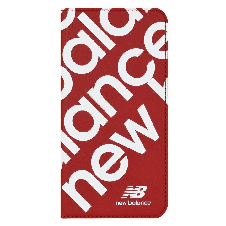 iPhone 11 Pro ケース New Balance スリム手帳ケース スタンプロゴ/レッド iPhone 11 Pro_0