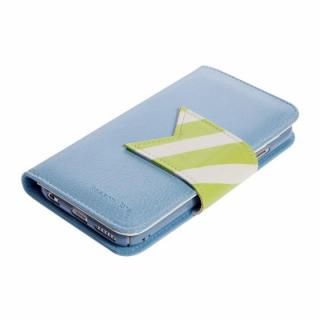 【iPhone6ケース】Happymori 手帳型ケース Reason Ave. ブルー iPhone 6ケース_2