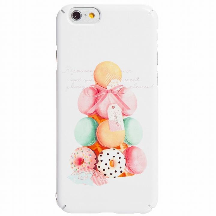 スイーツに彩るケース Happymori Le Petit BonBon マカロン iPhone 6ケース