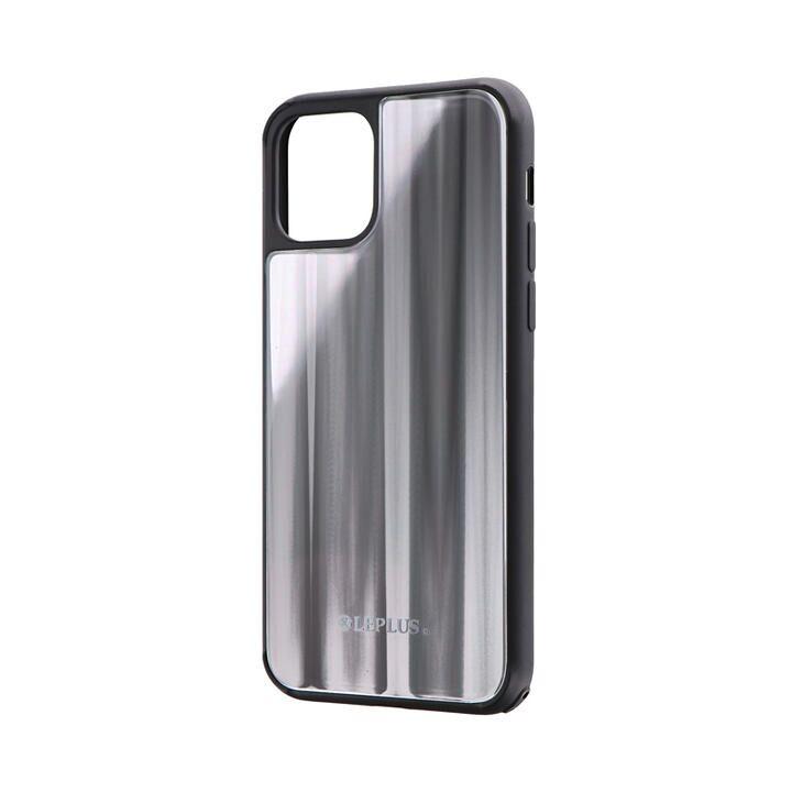 背面ガラスシェルケース「SHELL GLASS」 シルバー iPhone 11 Pro【9月中旬】_0