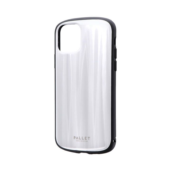 iPhone 11 Pro ケース 超軽量・極薄・耐衝撃ハイブリッドケース「PALLET METAL」 ホワイト iPhone 11 Pro_0