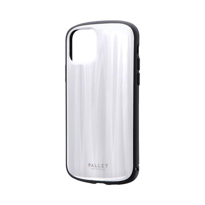 超軽量・極薄・耐衝撃ハイブリッドケース「PALLET METAL」 ホワイト iPhone 11 Pro【9月中旬】_0