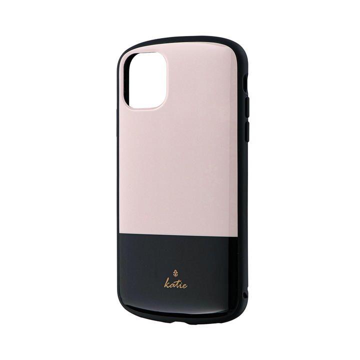iPhone 11 ケース 超軽量・極薄・耐衝撃ハイブリッドケース「PALLET Katie」 ツートンベージュ iPhone 11_0